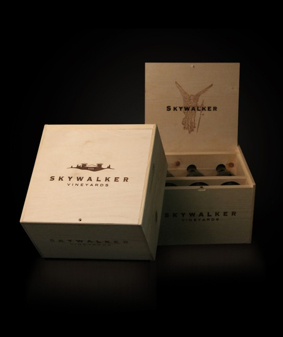 Pine Collector's Box - 6 Bottle